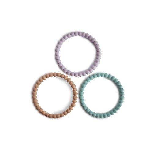 Mushie Mushie | Silicone pearl bracelet | Bijtspeeltjes armbanden