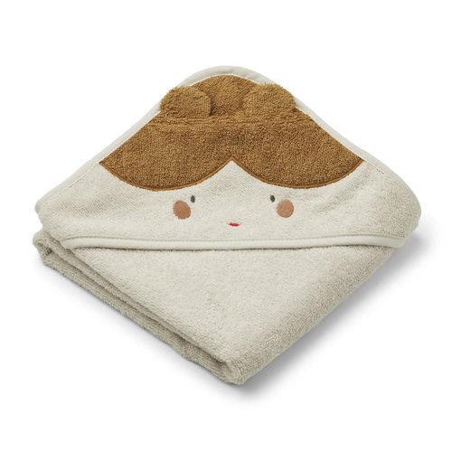 Liewood Liewood | Albert hooded towel | Doll / Hero