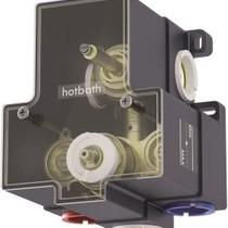 Hotbath Douchethermostaat Hotbath Buddy B009EXTGN - Inbouw 2-weg - Geborsteld Nikkel (Zonder inbouwdeel)