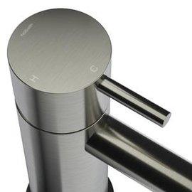 Hotbath Hotbath Cobber Wastafelmengkraan CB003CGN Geborsteld Nikkel