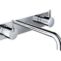 Hotbath Hotbath Cobber Afbouwdeel CB006TEXT25GN Geborsteld Nikkel