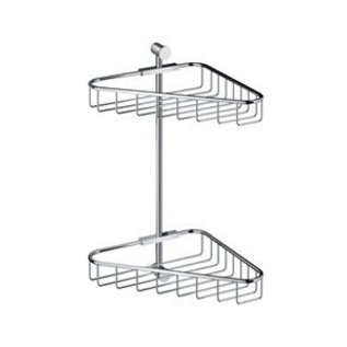 Hotbath Hotbath Cobber Hoekdraadkorf Dubbel CBA14BL Mat Zwart