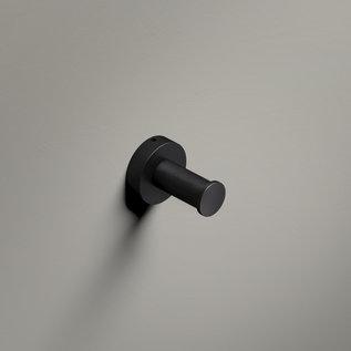 Hotbath Hotbath Cobber Haak CBA03BL Mat Zwart