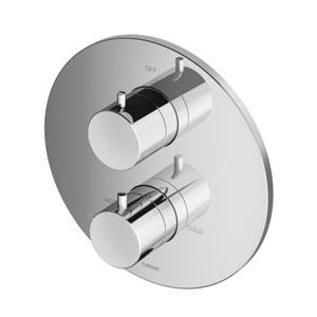 Hotbath Douchethermostaat Hotbath Buddy B013EXTCR -  Inbouw 1 Stopkraan - Rond Chroom (Zonder inbouwdeel)