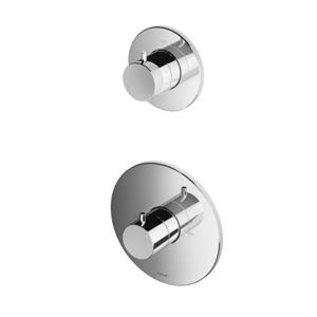 Hotbath Douchethermostaat Hotbath Buddy B012EXTGN - Inbouw 1 Stopkraan - Geborsteld Nikkel (Zonder inbouwdeel)