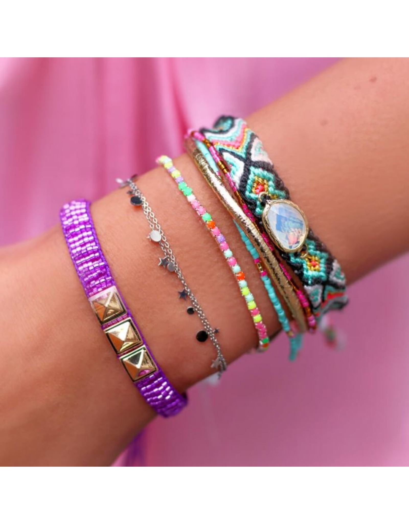 My jewellery Armband kleine rondjes
