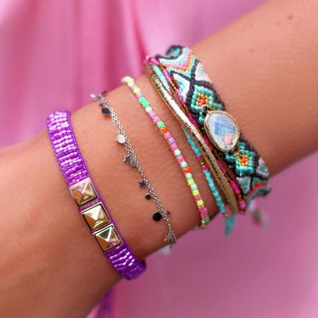 Armband kleine rondjes