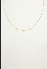 My jewellery Ketting 3 sterretjes