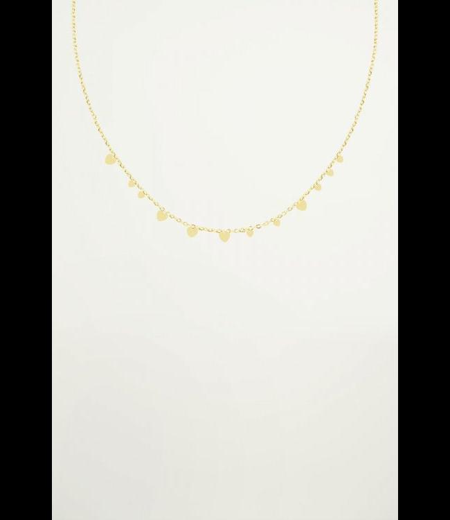 My jewellery Ketting kleine hartjes