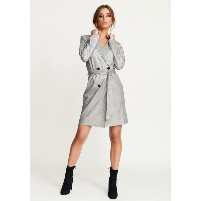 Rut&Circle Bea belt blazer dress