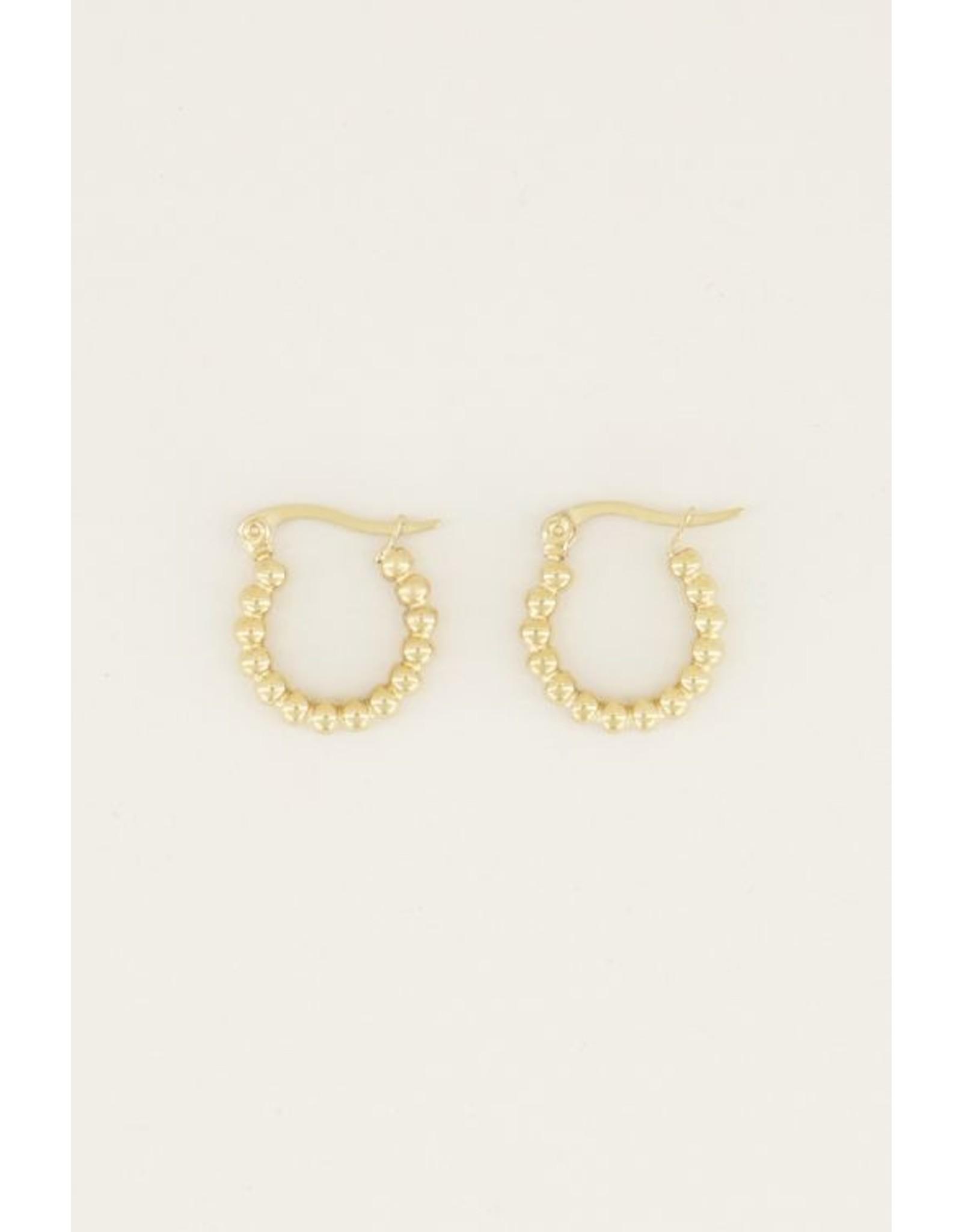 My jewellery Bolletjes oorringen klein