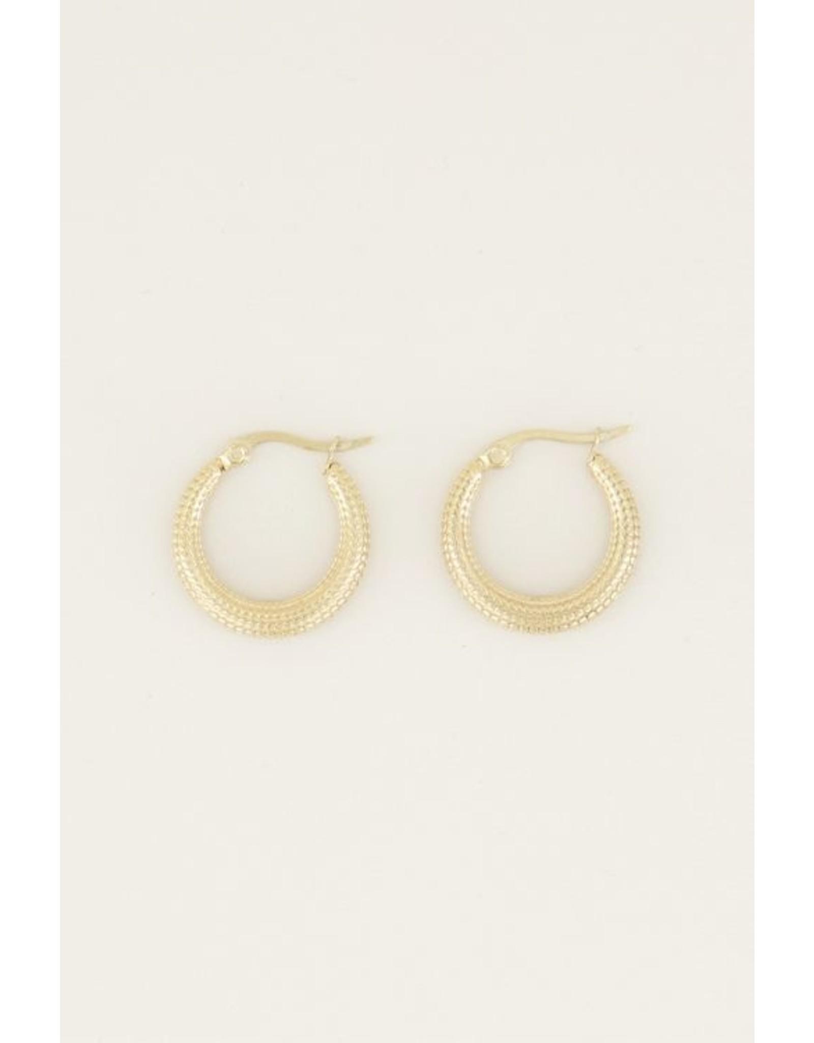 My jewellery Oorhangers gevlochten