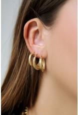My jewellery Gedraaide oorringen patroon