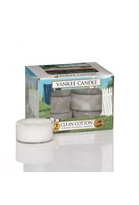 Yankee Candle Clean Cotton 12 Tea Lights
