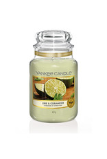 Yankee Candle Lime & Coriander Large Jar