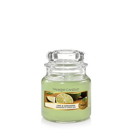 Yankee Candle Lime & Coriander Small Jar