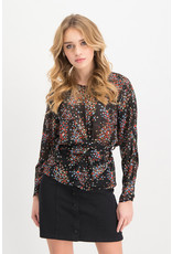 Lofty manner Blouse Elizabeth Black Red
