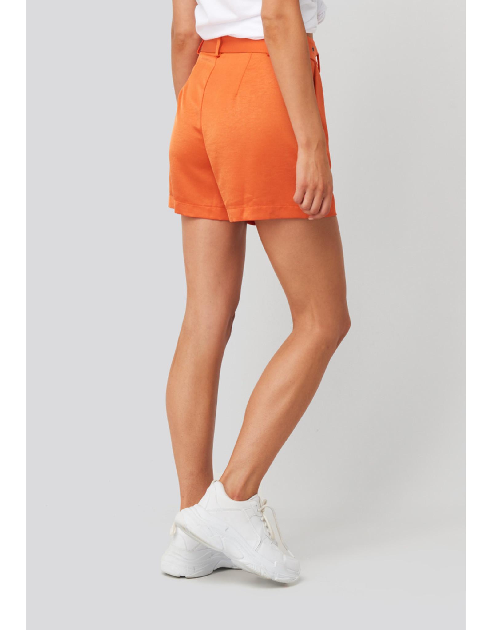 Rut&Circle Kelly Satin Belt Shorts