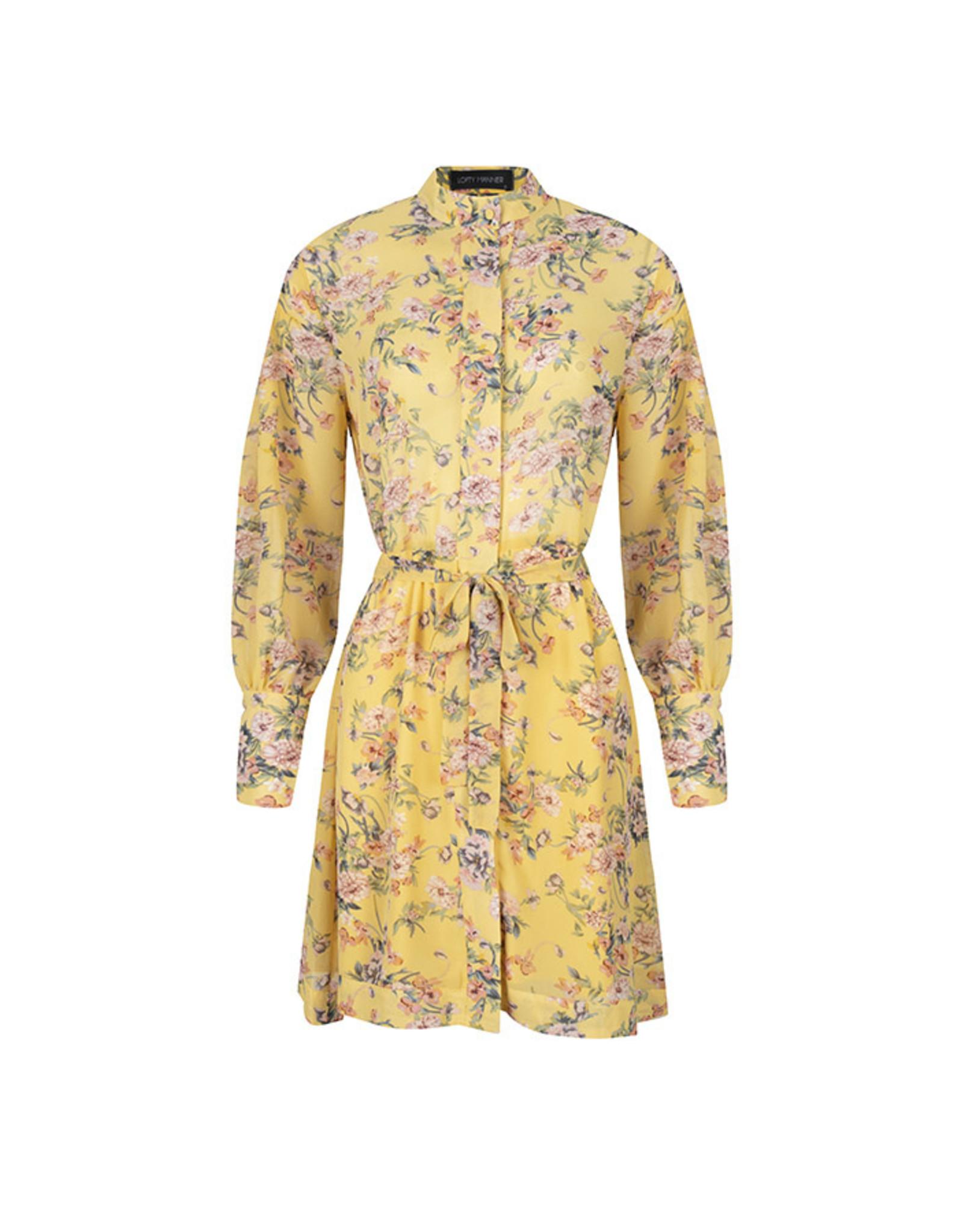 Lofty manner Dress Dana Yellow