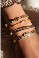 My jewellery Bangle grijze steen