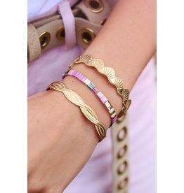 My jewellery Lila armband miyuki kralen