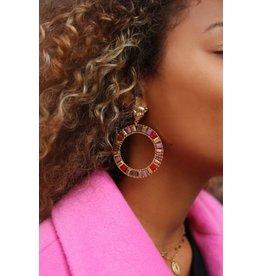 My jewellery Statement oorbel leopard