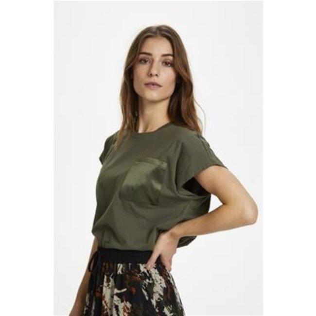 Kaffe Blanca T-shirt Grape Leaf