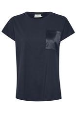 Kaffe Blanca T-shirt Black Deep