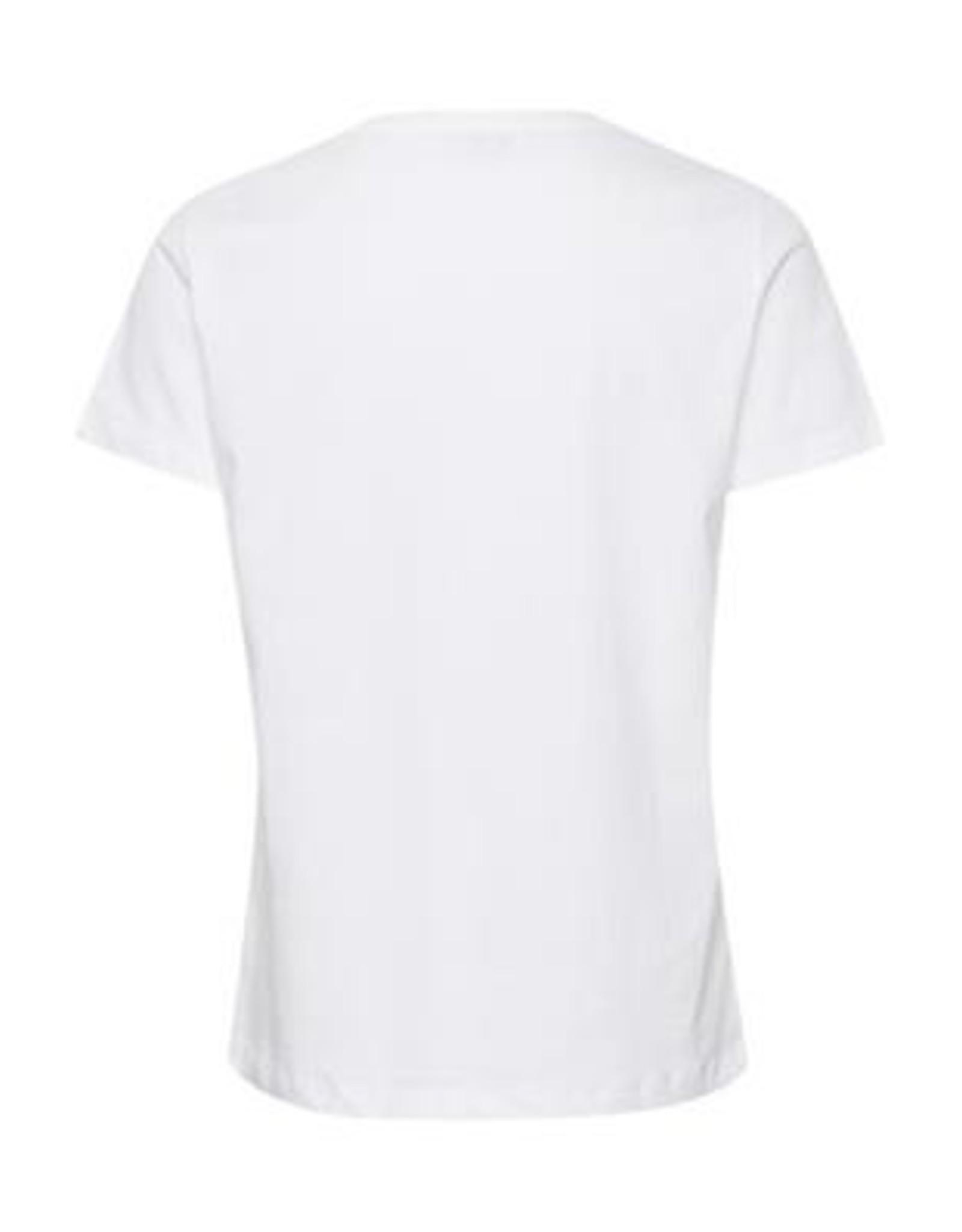 Cream Flora T-shirt