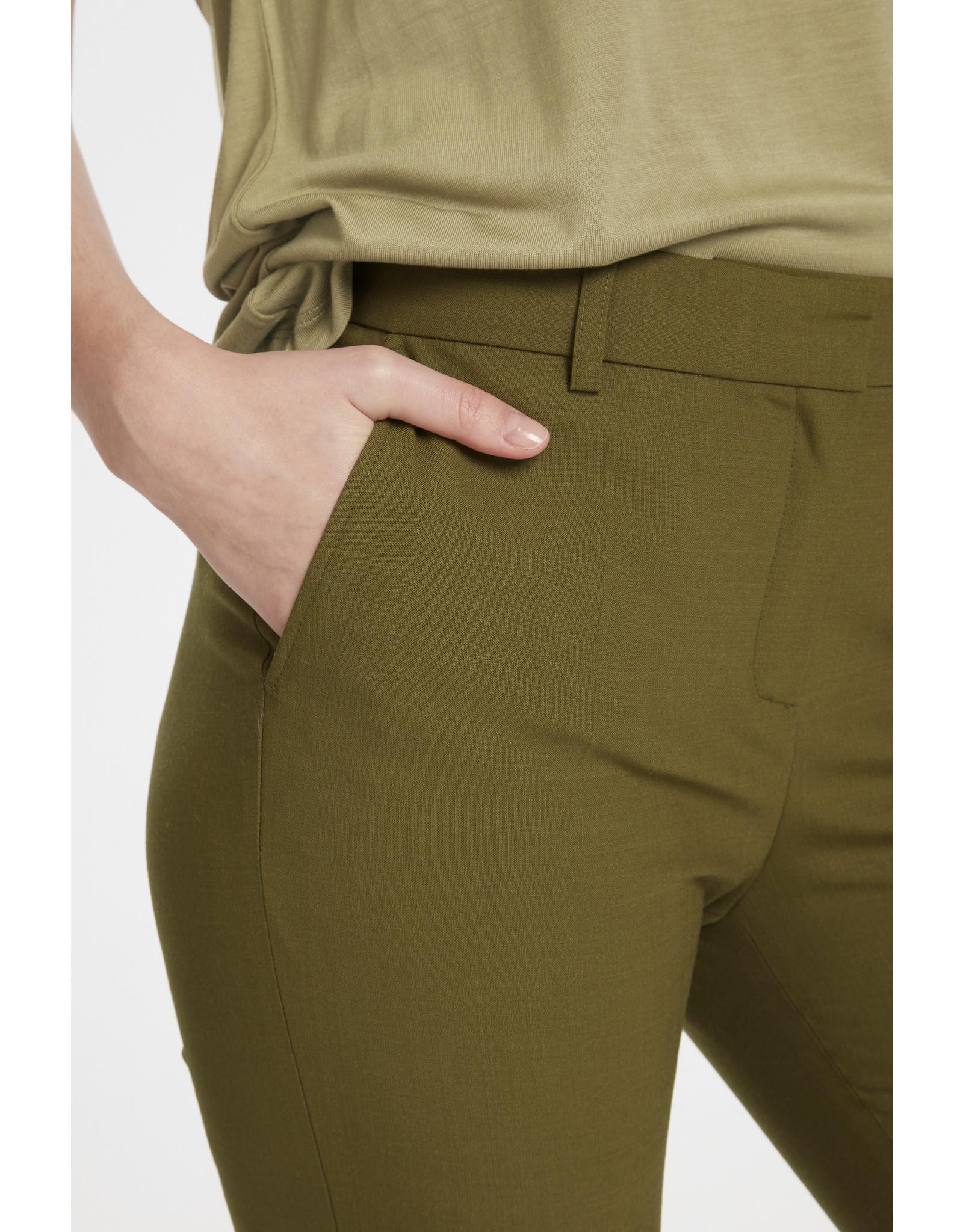Karen by Simonsen Sydney Cigarette Pants Military Olive