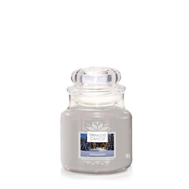 Candlelit Cabin Small Jar