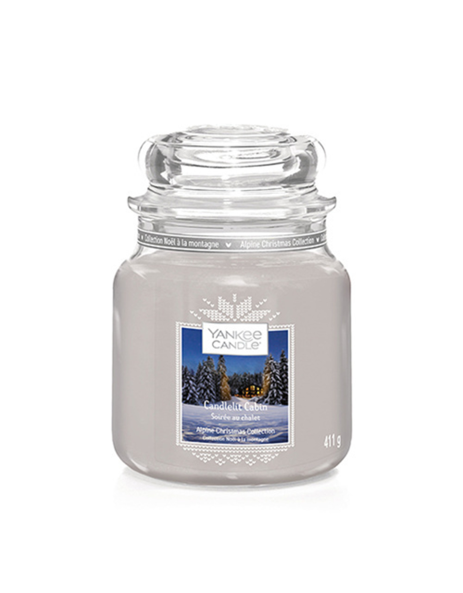 Yankee Candle Candlelit Cabin Medium Jar