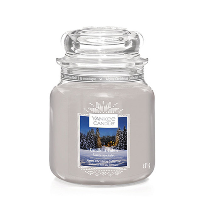 Candlelit Cabin Medium Jar