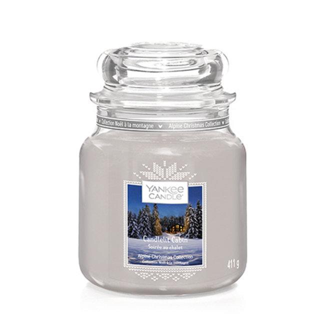 Yankee Candle Candlelit Cabin Medium Jar