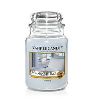 Yankee Candle A Calm & Quiet Place Large Jar