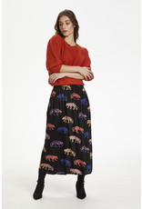 Kaffe Sheeta Midi Skirt