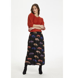 Kaffe Sheeta Midi Skirt