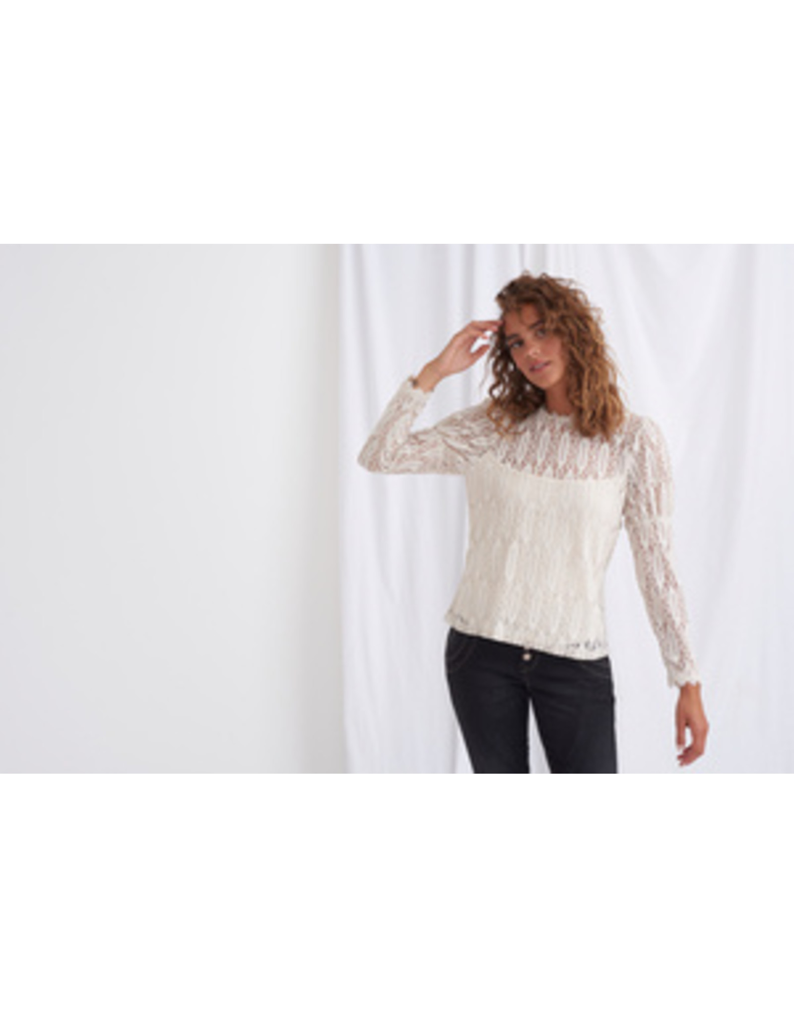 Cream Vivi T-shirt Birch