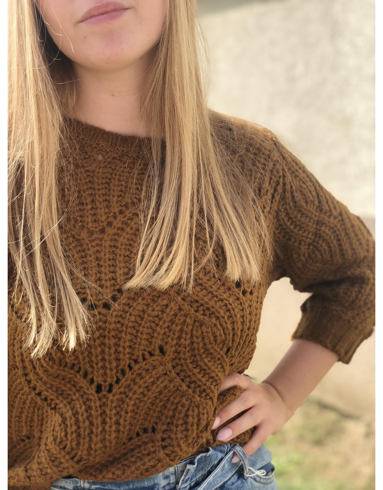 SCHOOL RAG Polly Knit Pullover