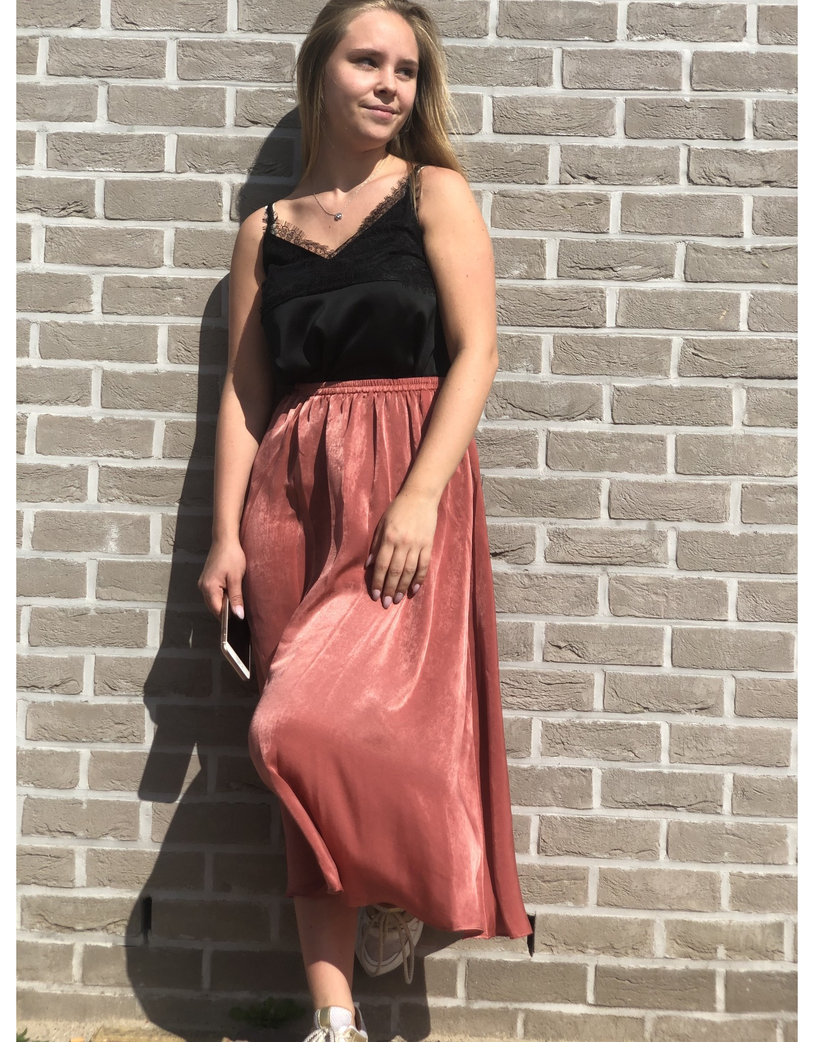 SCHOOL RAG Skirt Jazz Burned Pink