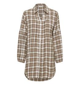 Cream Chekia Shirt