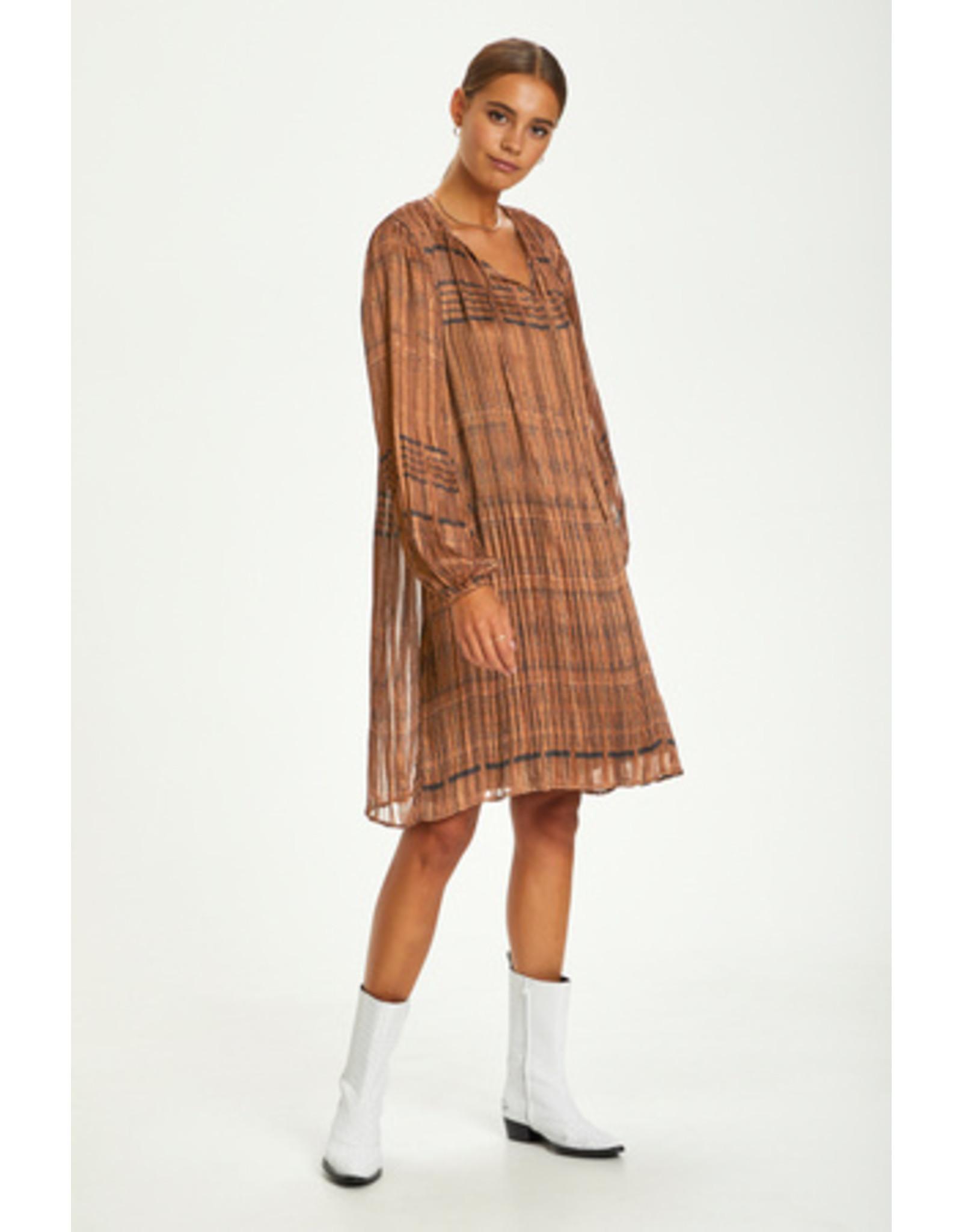 Cream Leopedra Dress