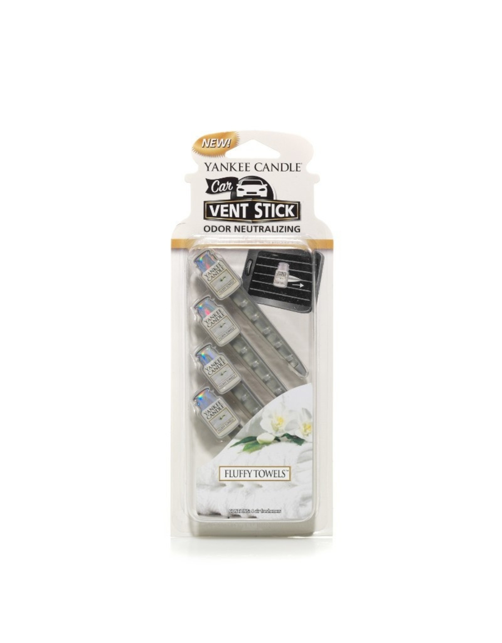 Yankee Candle Fluffy Towels Vent Stick