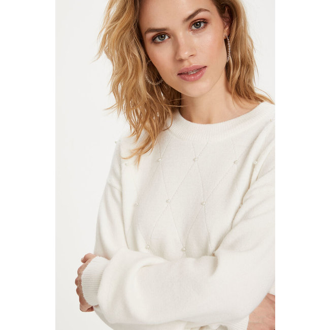 Pearl Knit Pullover