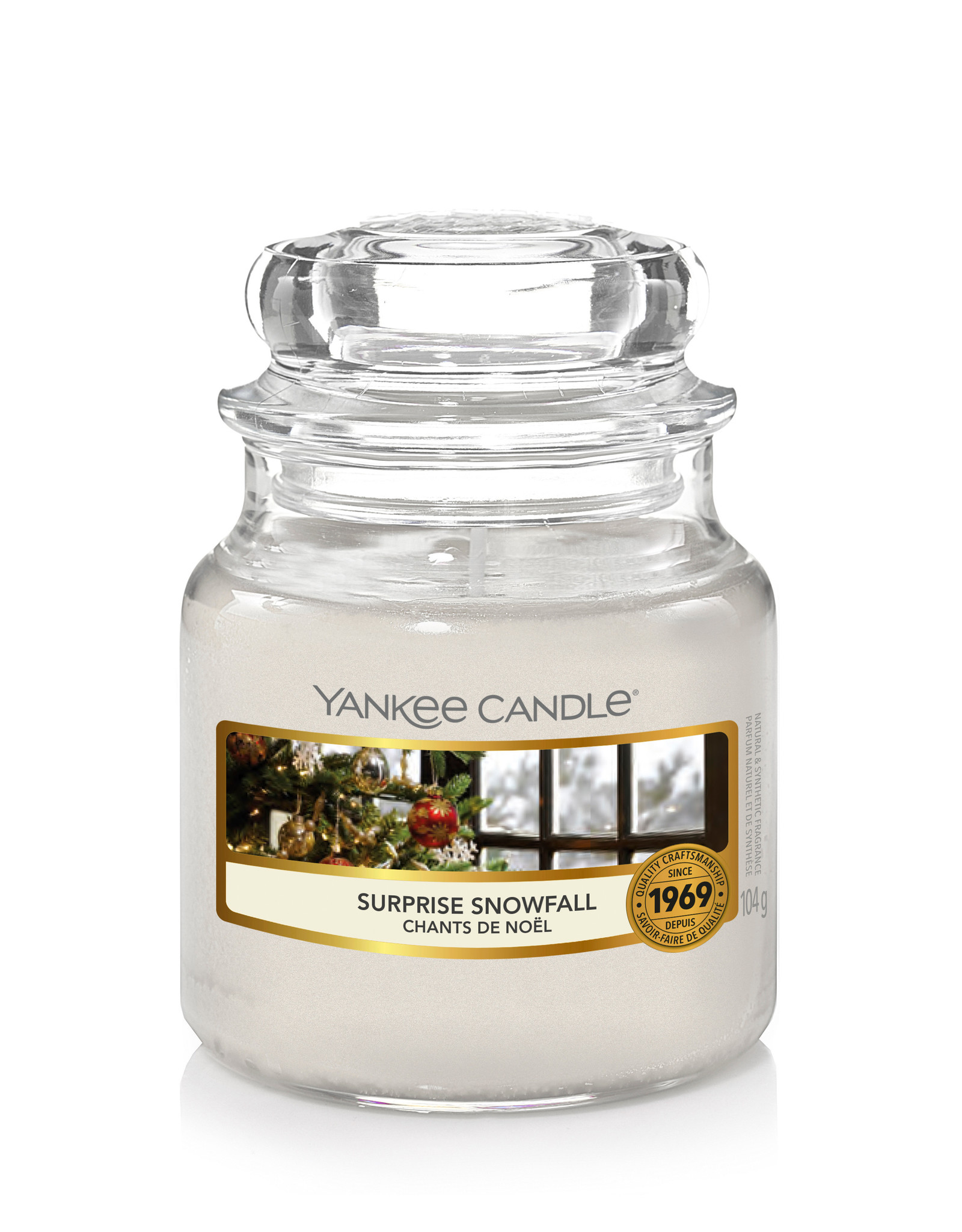 Yankee Candle Suprise Snowfall Small Jar