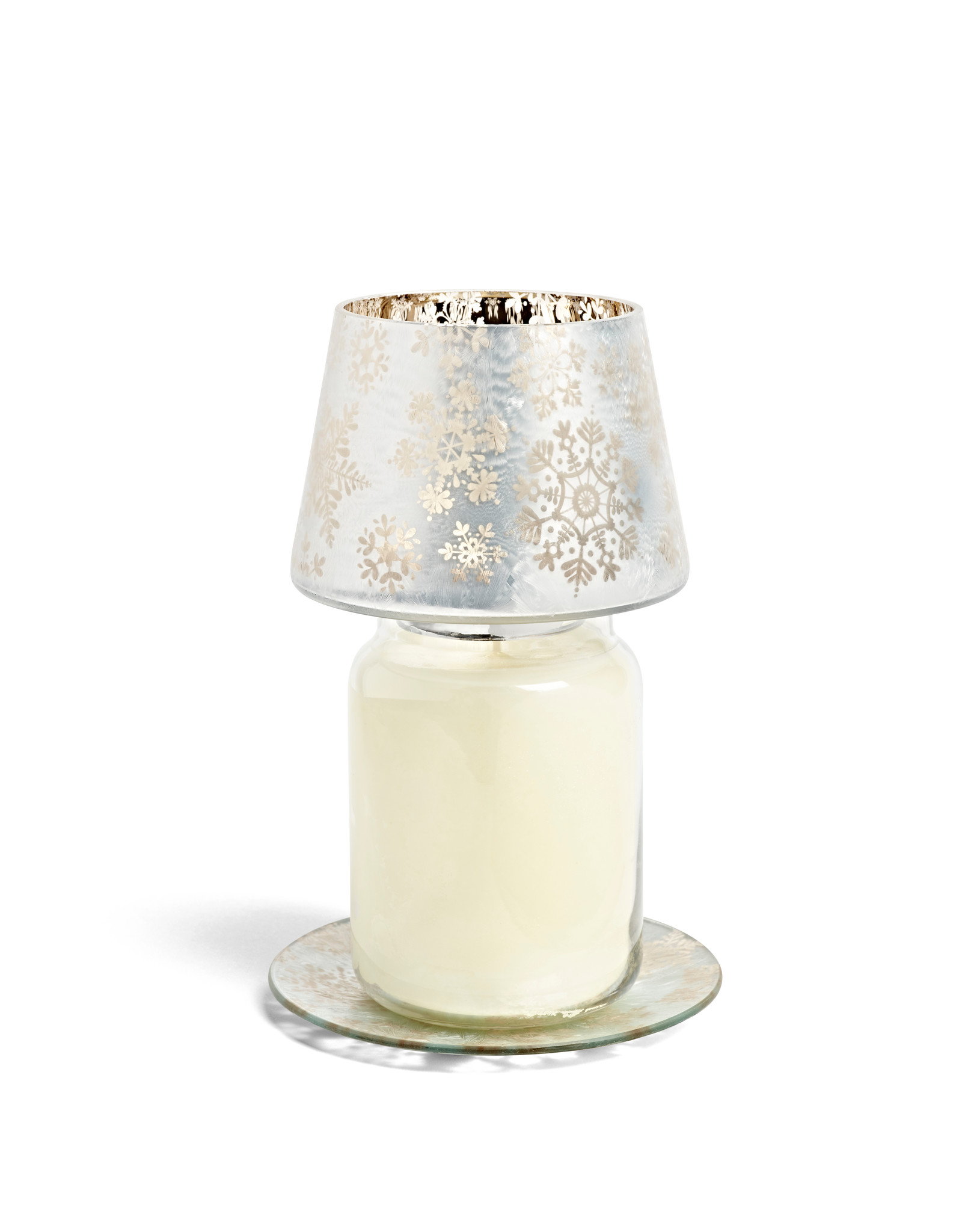 Yankee Candle Snowflake Frost Large Shade & Tray