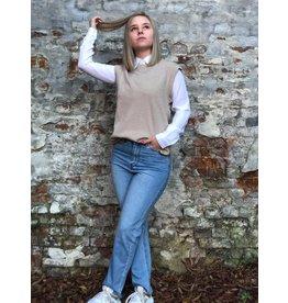 Rut&Circle Becky Vest Beige