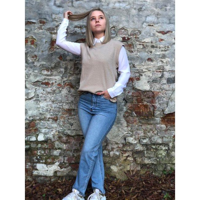 Becky Vest Beige
