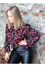 Rut&Circle Lilly Blouse Red Flower