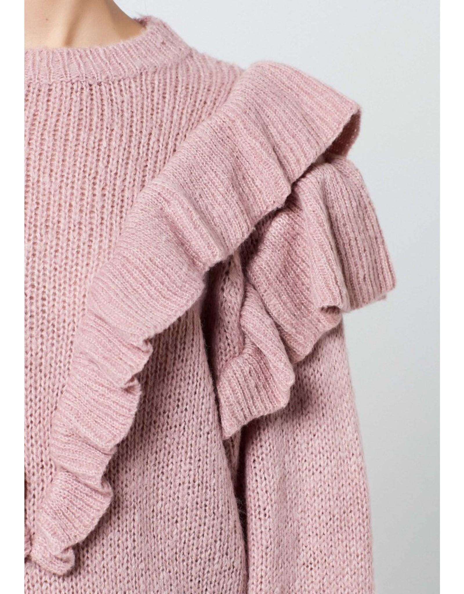Rut&Circle Nina Frill Knit